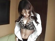 bathroom big-tits boobs bus busty japanese natural skirt striptease