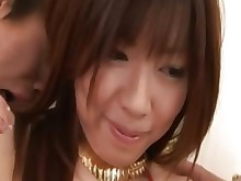 group-sex hardcore hot japanese threesome anal blowjob brunette
