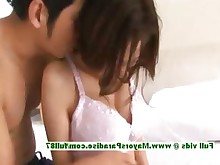 big-tits boobs brunette chick dress innocent japanese nasty undressing