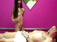 amateur ass blowjob brunette fuck massage really