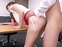 crazy doggy-style horny japanese kiss masturbation