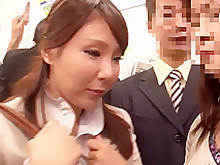 bus close-up horny japanese whore