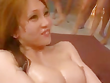 uncensored bukkake creampie